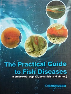 English cover of the book The Practical guide to fish diseases