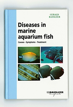 English cover of the book Diseases in marine aquarium fish
