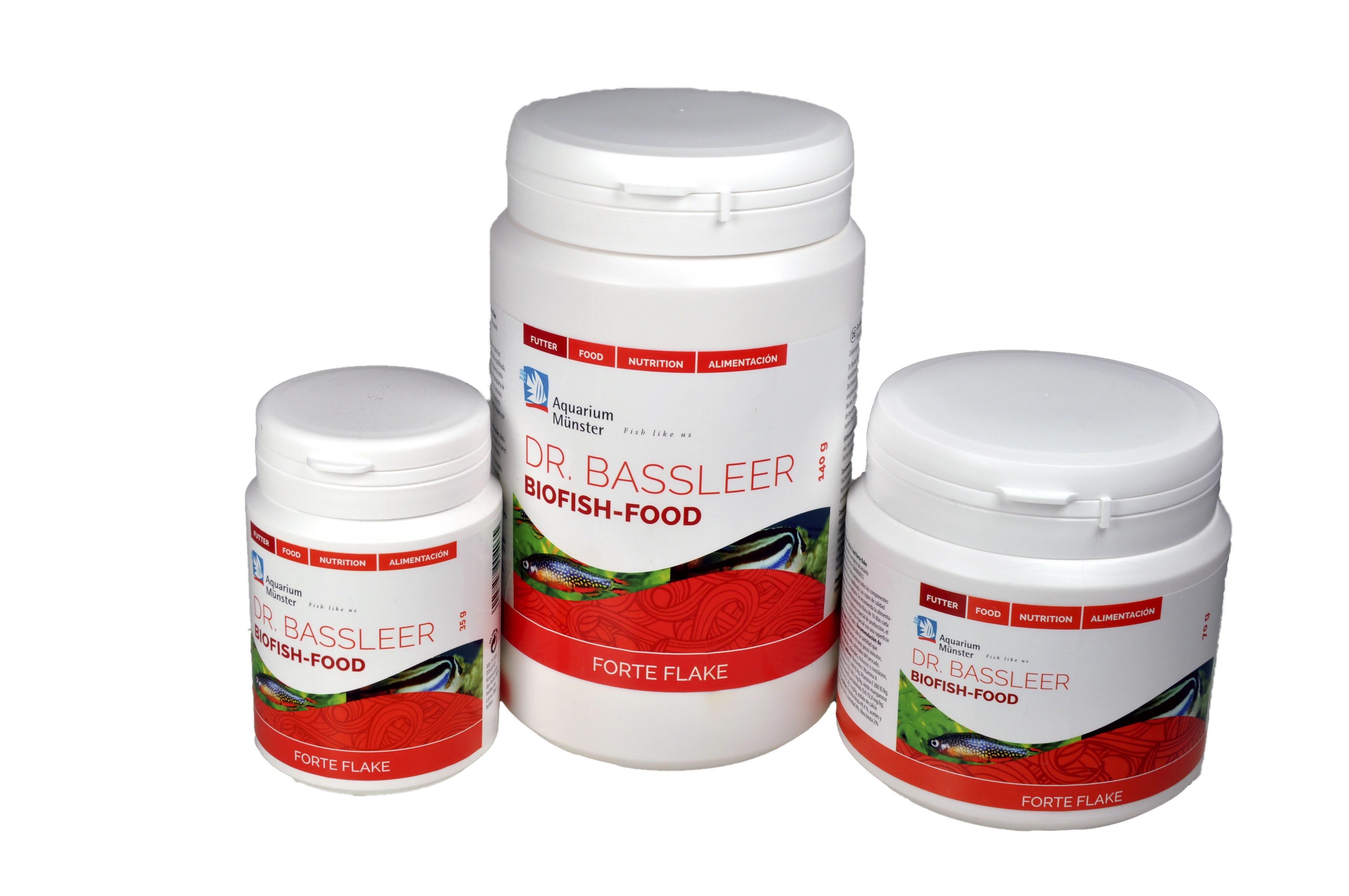 Bassleer Biofish Food Forte Flakes Packing