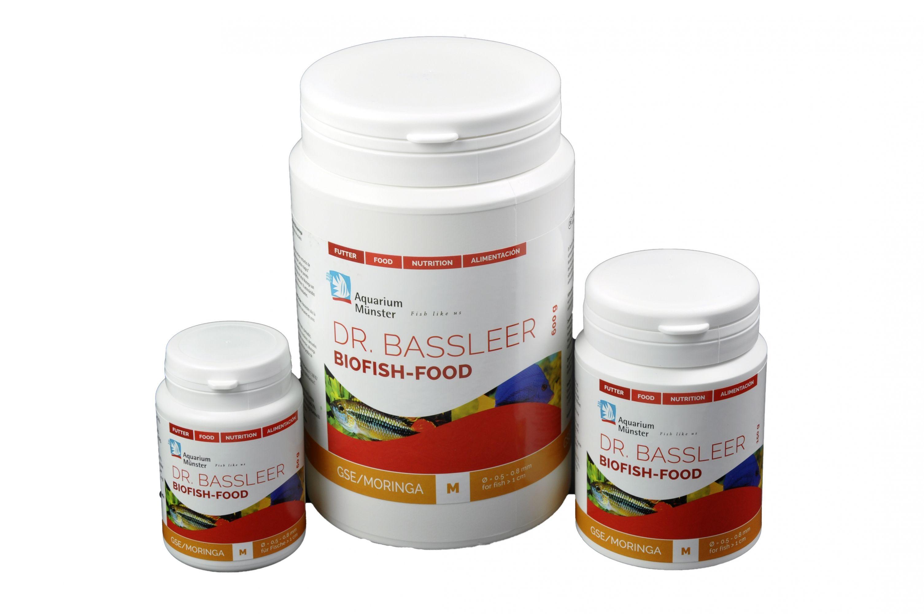 Bassleer Biofish Food GSE/Moringa verpakking