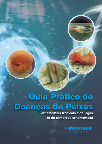 Brazilian cover of the book The Practical guide to fish diseases