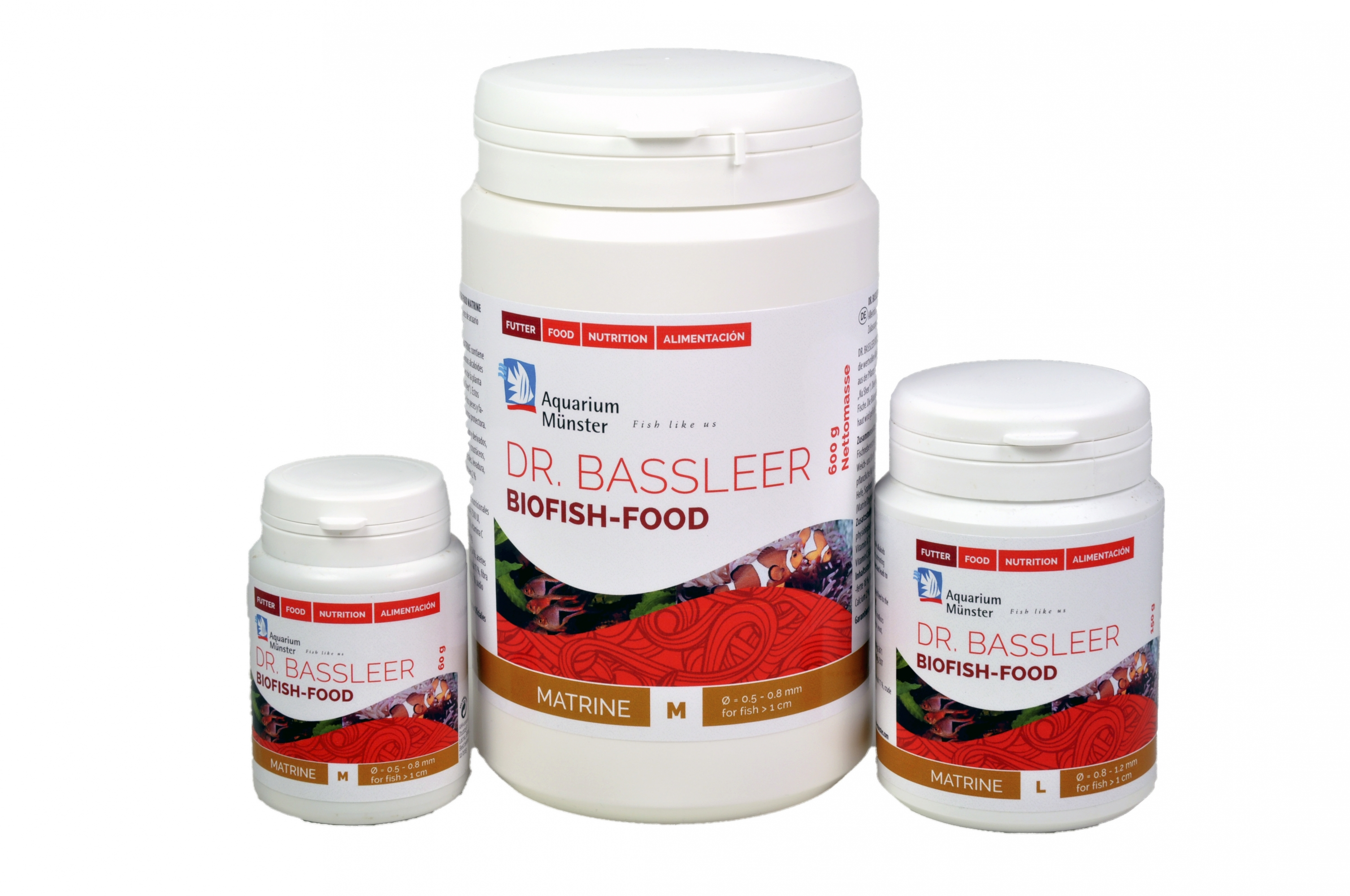 Bassleer Biofish Food Matrine Packing