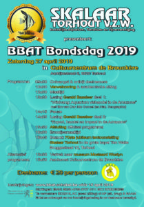 poster van de bbat bondsdag 2019
